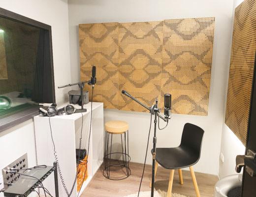一個人在錄音室的日子