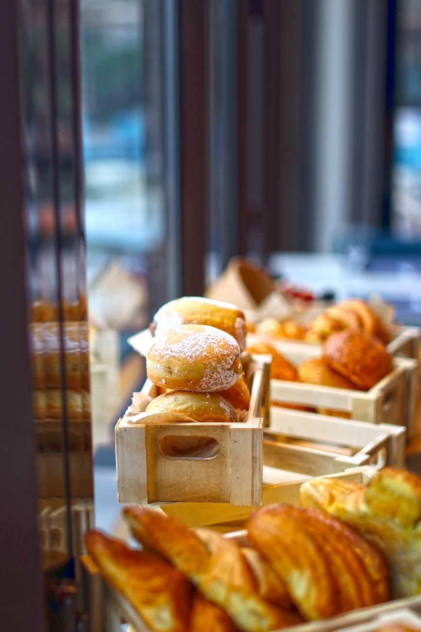 bread food dawn coffee